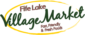 A logo of Fife Lake Village Market